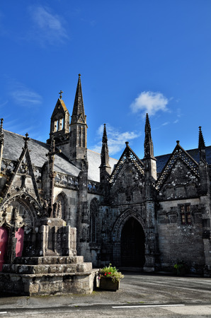 Folgoet, lovely village in Brittany and his Church