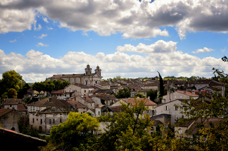 Nerac, ancient French town lying on both sides of the Baise River, tourist destination