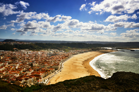 Nazar? is one of the most popular seaside resorts in Portugal, it has long sandy beaches, considered by some to be among the best beaches in Portugal. The town consists of three neighbourhoods: Praia, S?tio and Pederneira. Praia and S?tio are linked by a funicular railway.