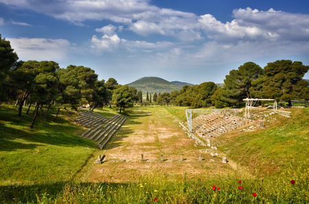 The archaeological site of Asklipieion is considered one of the most important in Greece and it covered a big area, offering hostels, gymnasium, baths and the famous Theatre of Epidaurus