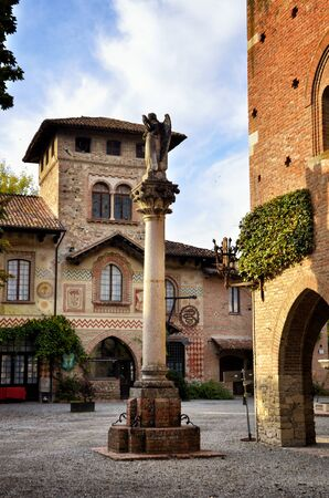 Grazzano Visconti is a medieval village built at the beginning of the 900 by the Duke Giuseppe Visconti, in the province of Piacenza, Italy