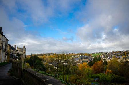 Vitré is a beautiful tourist destination in Brittany, France, with its famous castle Reklamní fotografie
