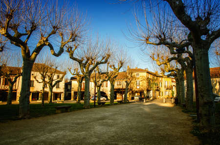 Fources is a round Bastide, and it is classified among the most beautiful villages of France, tourist destination in the Armagnac's production area and pretty medieval village with timbered houses Editorial