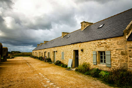 Meneham is a restored former village of peasants and fishermen in Brittany, France, nestled between the rocks of the Coast of Legends