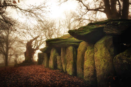 La Roche-aux-Fees (the fairies' rock) in Brittany, France, is regarded as Europe's best preserved dolmen