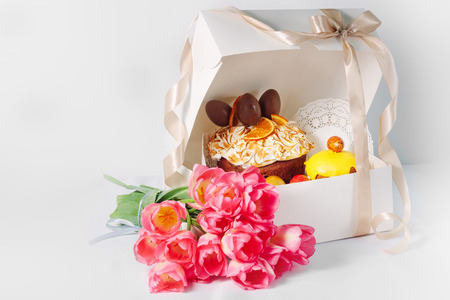 Treats for a happy Easter in the gift box