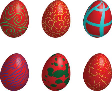 easter, eggs, design Stock Vector - 6500836