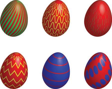 easter, eggs, art Stock Vector - 6500835