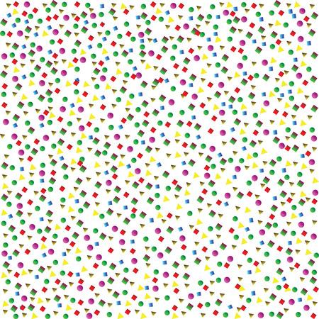 confetti Stock Vector - 6984973
