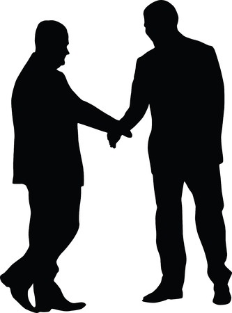 man agreement Stock Vector - 6984958