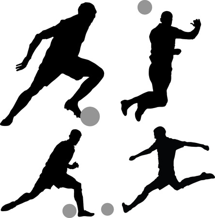 football3 Stock Vector - 6984988