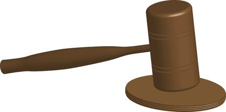 judge judgment Stock Vector - 7036315