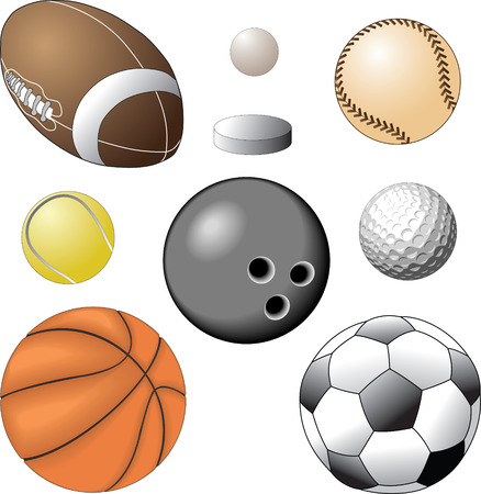 ball action Stock Vector - 7036312