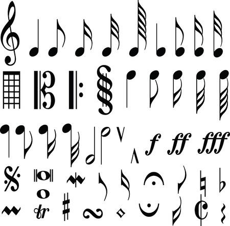 muziek symbool Opmerking