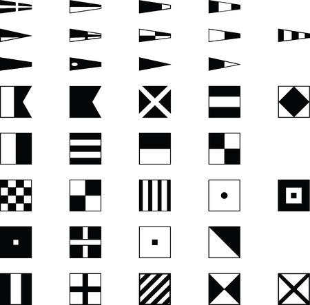 nautical flags: nautical symbol