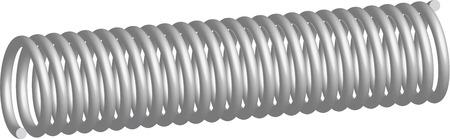 spring, steel Stock Vector - 7221462
