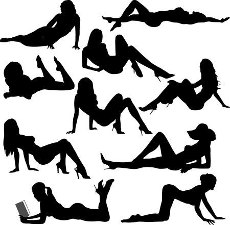 sexy nude women: woman, beach
