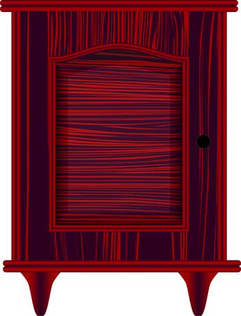 ladenkast: dressoir, meubels, klassiek, cherry