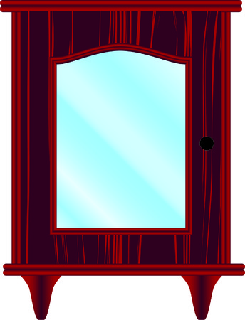 hinges: dresser, furniture, classic, cherry, glass