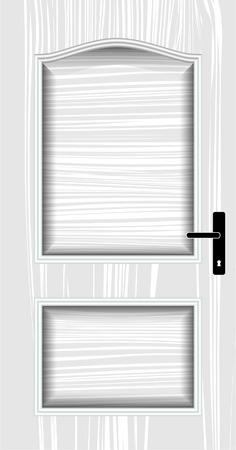 hinges: door, classic, white