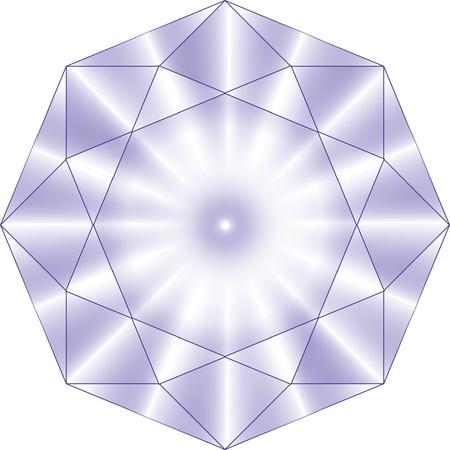 gemstone: diamond Illustration