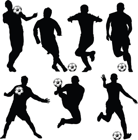 sports bar: soccer silhouette