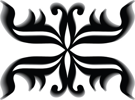 tattoo tribal vector shadow Vector