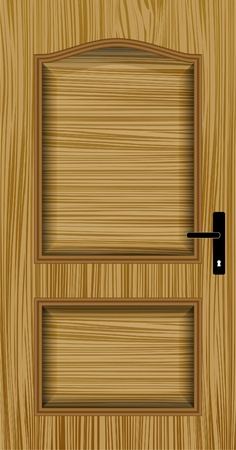 hinges: door wood
