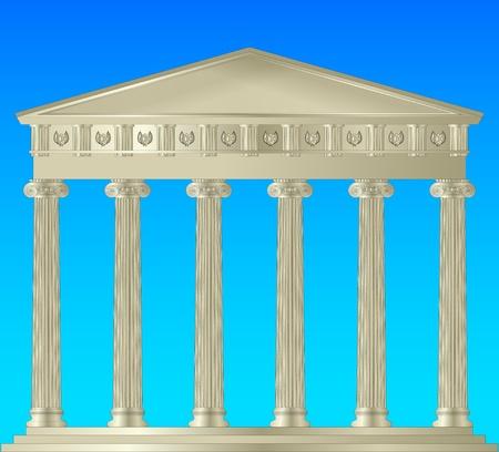 Ionic Capitol Stock Vector - 9807822