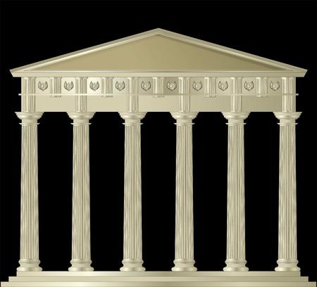 Doric Capitol Stock Vector - 9807823