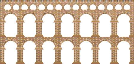 arcos de piedra: Acueducto