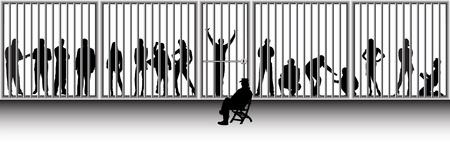 strafgefangene: Polizei und Gefangenen