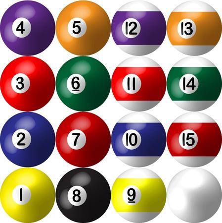 pool bola: bola de billar
