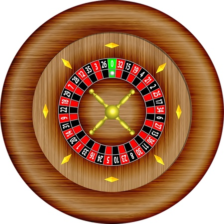 roulette illustration  Vector