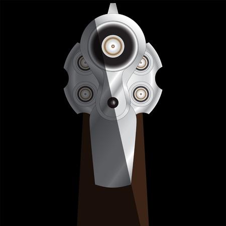 revolver Stock Vector - 10518057