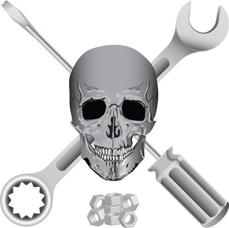 bad mechanic symbol Stock Vector - 10555174
