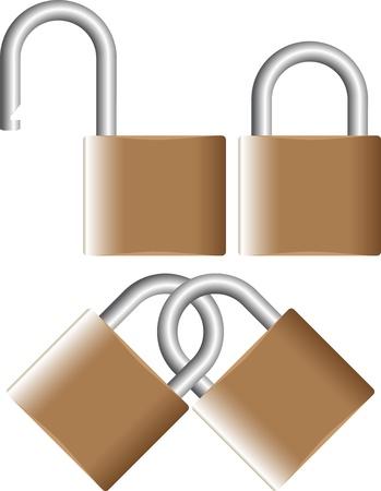 thieving: padlock Illustration