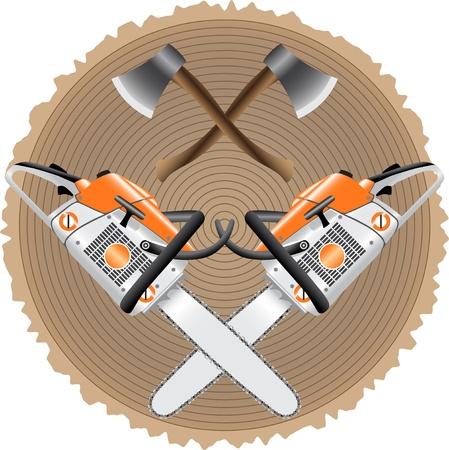 chainsaw: lumberjack
