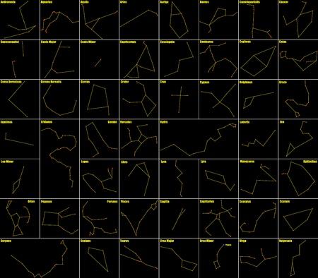 costellazioni: costellazioni Vettoriali