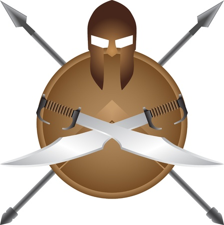 spartano: Spartan simbolo