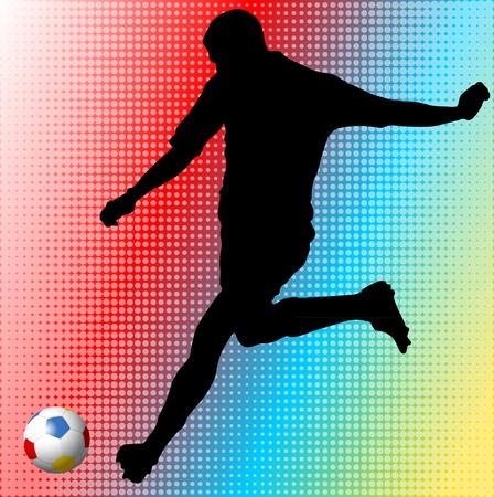 Euro 2012 football player