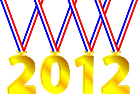 Olympic year Vector