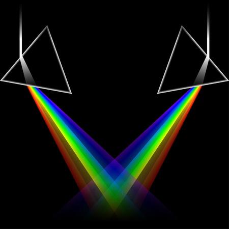 doubles: spectrum doubles Stock Photo