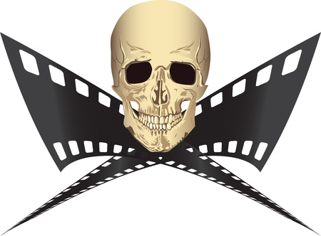 Pirated movie Vector