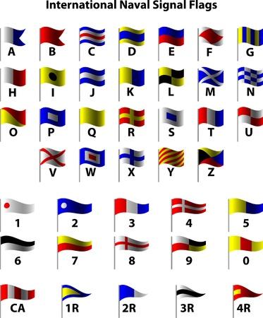 naval: International Naval Signal Flags