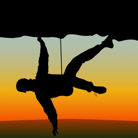 climbing Vettoriali