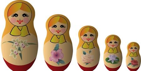 muñecas rusas: babushka