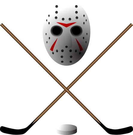 symbol of hockey Vector
