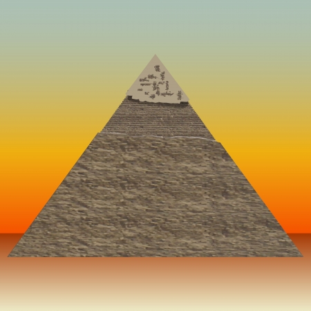 cheops: Great Pyramid of illustrations