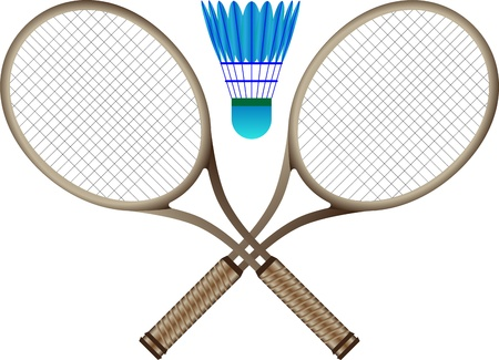 Badminton Vettoriali
